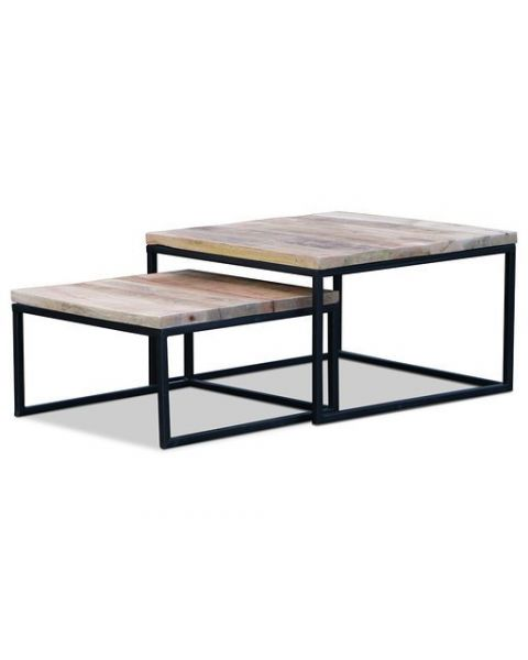 Square Salontafel set